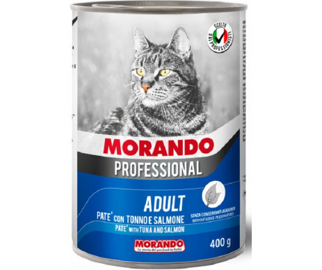 Morando Professional Adult Cat with Tuna and salmon