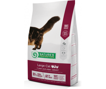 Natures Protection Cat Adult Large breed
