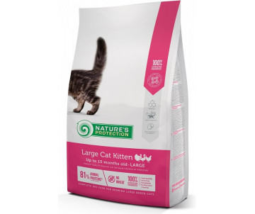Natures Protection Cat Kitten Large breed