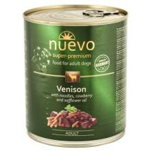 Nuevo Dog Adult Venison Noodles Cowberry Wet