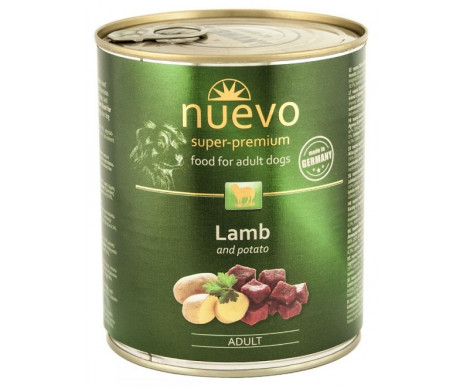Nuevo Dog Adult Lamb Potato Wet