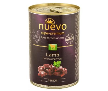 NUEVO Cat Senior Lamb & Cranberries Wet