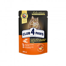 Club 4 Paws Cat Adult Premium Selection Atlantic Baltic Herring