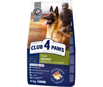 Club 4 Paws Dog Adult Premium Scout