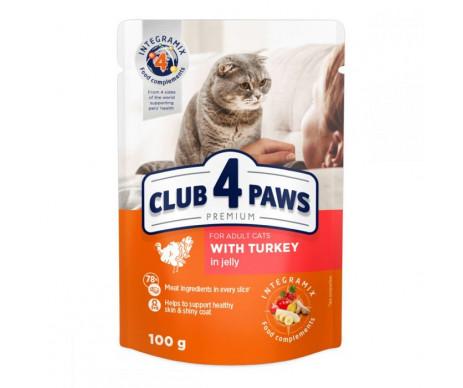 Club 4 Paws Cat Adult Premium Turkey Wet