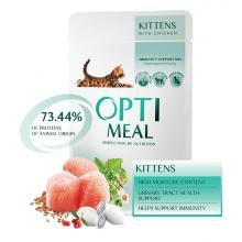Optimeal Cat Kittens Chicken Gravy