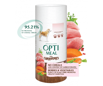 Optimeal Dog Adult Turkey Vegetables
