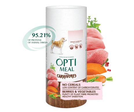 OPTIMEAL Dog Adult Turkey&Vegetables