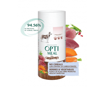 Optimeal Dog Adult Duck Vegetables