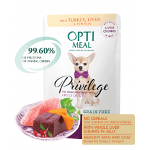 Optimeal Dog Adult Turkey Wet