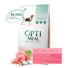 OPTIMEAL Dog Adult Medium Turkey