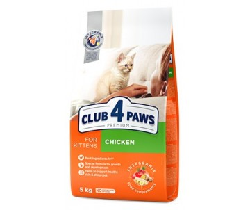 Club 4 Paws Kitten Premium Chicken