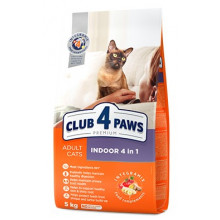 Club 4 Paws Cat Adult Premium Indoor 4in1