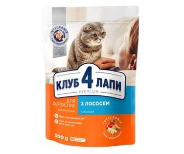 Club 4 Paws Cat Premium Salmon