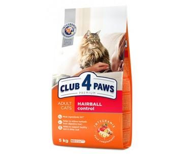 Club 4 Paws Cat Adult Premium Hairball Control