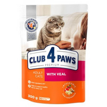 Club 4 Paws Cat Adult Premium With Veal