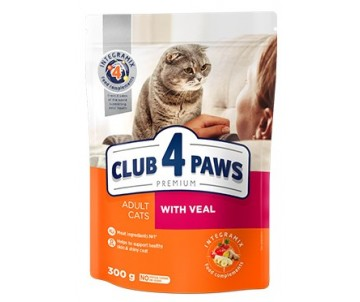Club 4 Paws Cat Premium With Veal
