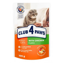 Club 4 Paws Cat Adult Premium Chiken Wet