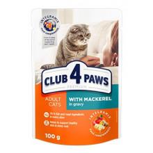 Club 4 Paws Cat Adult Premium Mackerel Wet