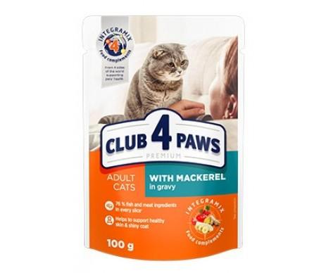 Club 4 Paws Premium Mackerel Cat