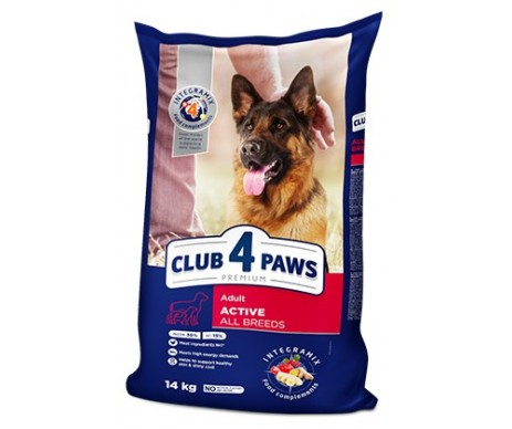 Club 4 Paws Dog Premium Active All Breeds