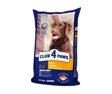 Club 4 Paws Dog Adult Premium Light All Breeds