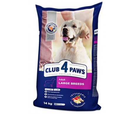 Club 4 Paws Dog Adult Premium Large Breeds