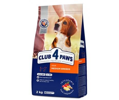 Club 4 Paws Dog Premium Medium Breeds