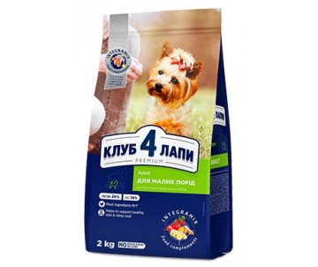Club 4 Paws Dog Adult Premium Small Breeds Chicken