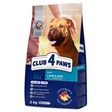 Club 4 Paws Dog Adult Premium Lamb&Rice All Breeds