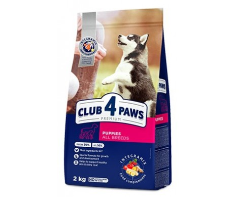 Club 4 Paws Dog Puppy Premium All Breeds