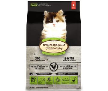 Oven-Baked Tradition Cat Kitten Chicken