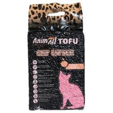 AnimAll Тоффу Персик наполнитель для кошачьего туалета