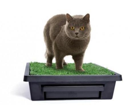Croci Loo Туалет для собак и котов портативный, имитация травы