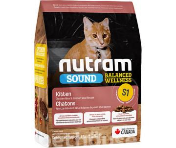 NUTRAM Cat Kitten Sound Balanced Wellness