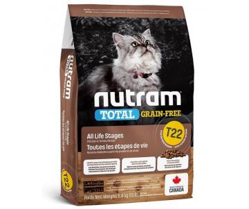 NUTRAM Cat Adult Total Grain Free Chiсken Turkey