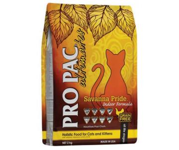Pro Pac Ultimates Cat Kitten Adult Savanna Pride Indoor