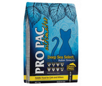 Pro Pac Ultimates Cat Kitten Adult Deep Sea Select Indoor