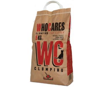 WC WhoCares Clumping комкующийся наполнитель в кошачий туалет