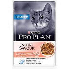Pro Plan Cat Adult Housecat Nutrisavour Salmon Gravy