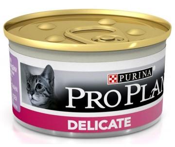 Pro Plan Delicate turkey Cat