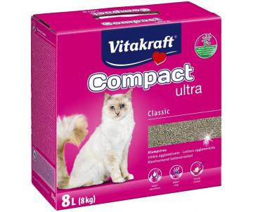 Vitakraft Compact бентонитовый наполнитель для кошачьего туалета