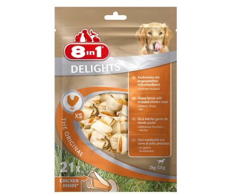 8in1 Value Bag XS кости для чистки зубов с мясом