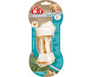8in1 Delights Pro Dental Bone кость для чистки зубов с мясом
