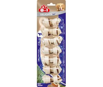 8in1 Delights Dental beef XS кость для чистки зубов у собак с говядиной