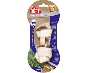 8in1 Delights Dental beef кость для чистки зубов у собак с говядиной