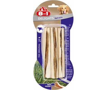 8in1 Beef Delights Sticks жевательные палочки с говядиной