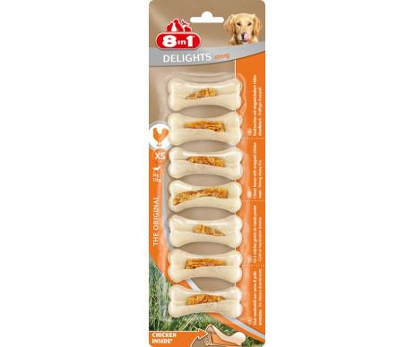 8in1 Strong XS кость прочная с куриным мясом для собак