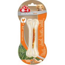 8in1 Strong кость прочная с куриным мясом для собак 1 шт