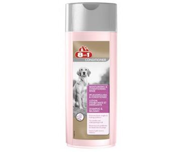 8in1 Moisturising Conditioning Rinse бальзам-кондиционер увлажняющий для собак